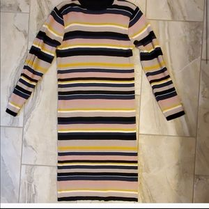 Eloquii Striped Sweater Midi Dress Size 18/20